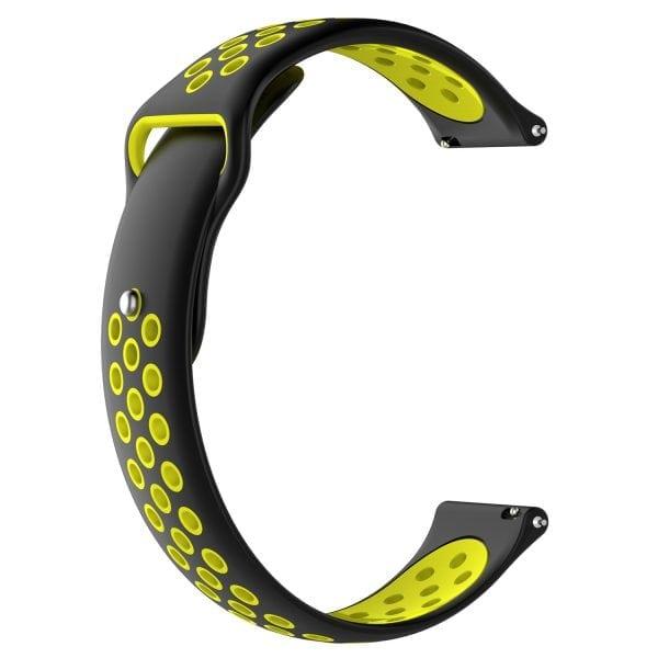 Samsung Gear Sport bandje zwart - geel_002