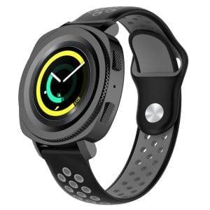 Samsung Gear Sport bandje zwart - grijs_003
