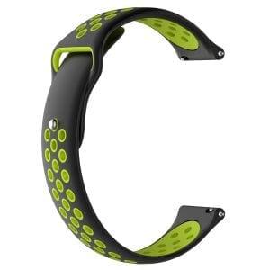 Samsung Gear Sport bandje zwart - groen_002