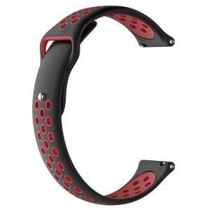 Samsung Gear Sport bandje zwart - rood_001