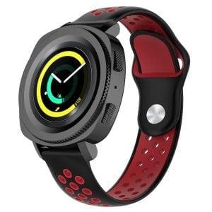 Samsung Gear Sport bandje zwart - rood_003