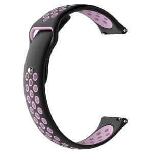 Samsung Gear Sport bandje zwart - roze_002