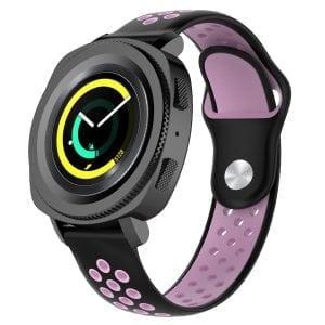 Samsung Gear Sport bandje zwart - roze_003