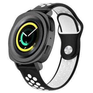 Samsung Gear Sport bandje zwart - wit_003