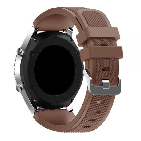 Samsung gear S3 Bandje chocolade bruin-001