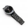 Samsung Gear S3 bandje RVS zwart metaal-008