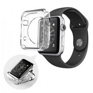 38mm beschermende Case Cover Protector Apple watch 1 - 2 - 3 transparant_002