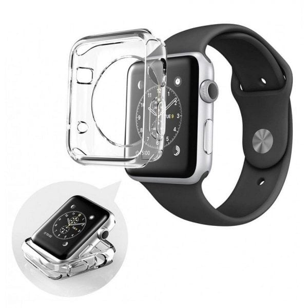 38mm beschermende Case Cover Protector Apple watch 1 - 2 - 3 transparant_002