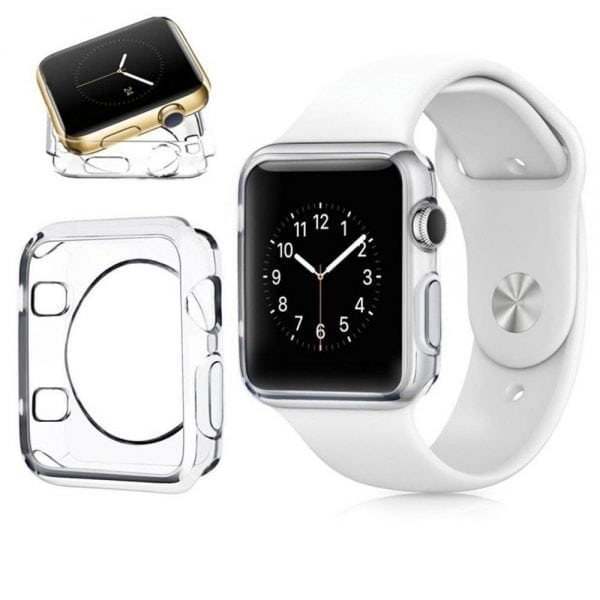 38mm beschermende Case Cover Protector Apple watch 1 - 2 - 3 transparant_003