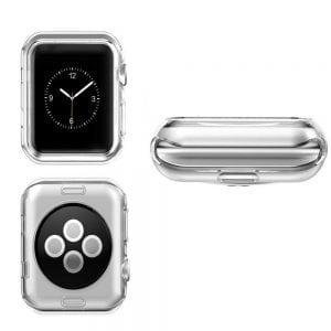 38mm beschermende Case Cover Protector Apple watch 1 - 2 - 3 transparant_004