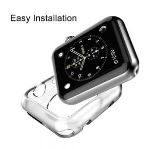 38mm beschermende Case Cover Protector Apple watch 1 - 2 - 3 transparant_006
