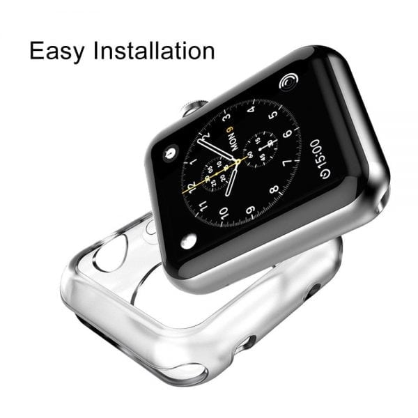 38mm beschermende Case Cover Protector Apple watch 1 - 2 - 3 transparant_006