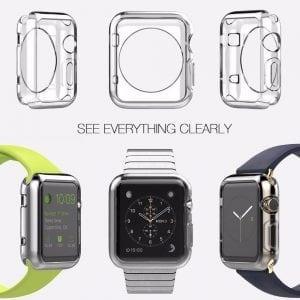 38mm beschermende Case Cover Protector Apple watch 1 - 2 - 3 transparant_007