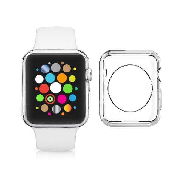 38mm beschermende Case Cover Protector Apple watch 1 - 2 - 3 transparant_011