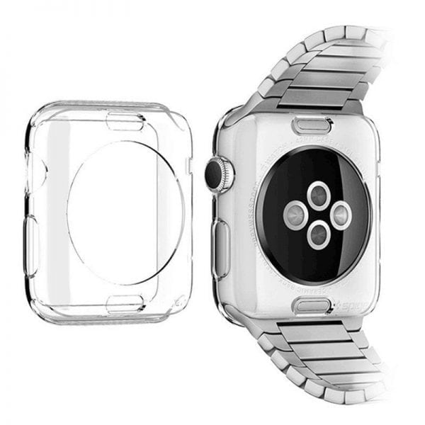 38mm beschermende Case Cover Protector Apple watch 1 - 2 - 3 transparant_012