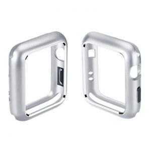 42mm bes42mm beschermende Magnetisch adsorptieontwerp Case Cover Protector Apple watch 2 - 3 Zilver_002chermende Magnetisch adsorptieontwerp Case Cover Protector Apple watch 2 - 3 Zilver_002
