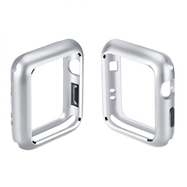 42mm bes42mm beschermende Magnetisch adsorptieontwerp Case Cover Protector Apple watch 2 - 3 Zilver_002chermende Magnetisch adsorptieontwerp Case Cover Protector Apple watch 2 - 3 Zilver_002
