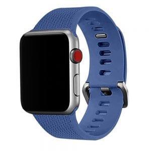 42mm en 44mm Sport bandje Ocean Blue geschikt voor Apple watch 1 - 2 - 3 - 4 _002