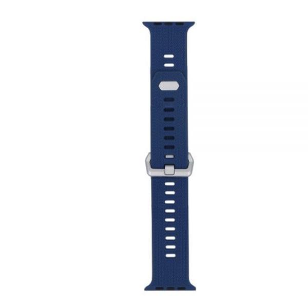 42mm en 44mm Sport bandje Ocean Blue geschikt voor Apple watch 1 - 2 - 3 - 4 _003