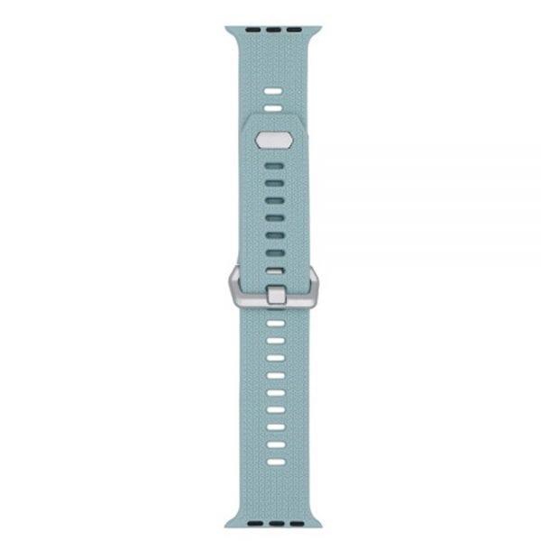 42mm en 44mm Sport bandje Turquoise geschikt voor Apple watch 1 - 2 - 3 - 4 _004