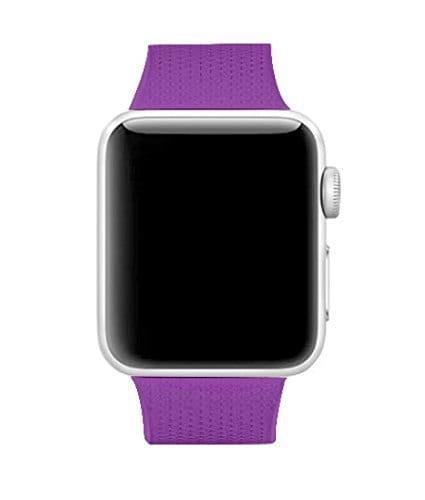 42mm en 44mm Sport bandje paars geschikt voor Apple watch 1 - 2 - 3 - 4 _001