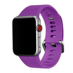 42mm en 44mm Sport bandje paars geschikt voor Apple watch 1 - 2 - 3 - 4 _002