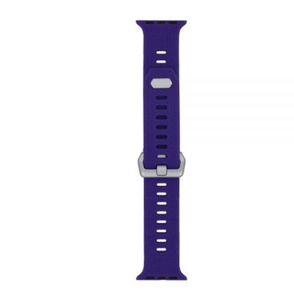 42mm en 44mm Sport bandje paars geschikt voor Apple watch 1 - 2 - 3 - 4 _003
