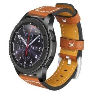 Samsung Galaxy Watch bandjes bruin_003
