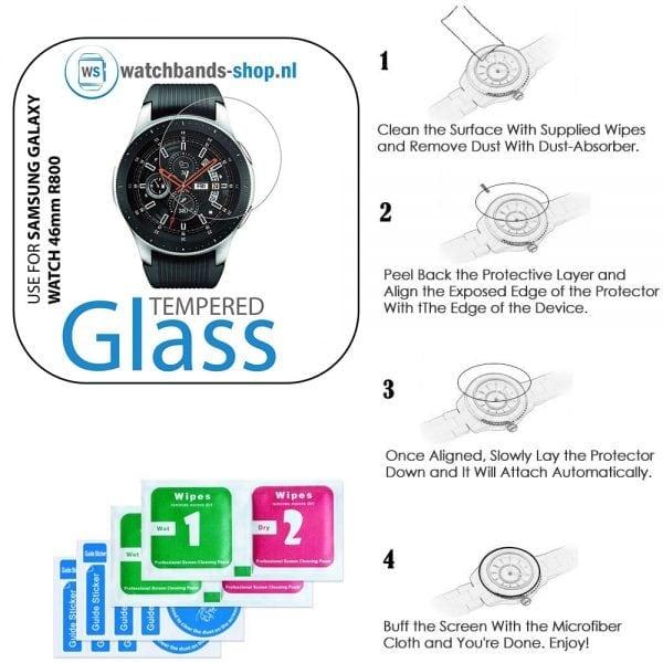Screen protector voor de Samsung Galaxy watch 46mm R800_003