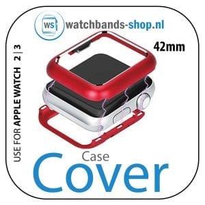 42mm beschermende Magnetisch Case Cover Protector Apple watch 2 - 3 rood_1002