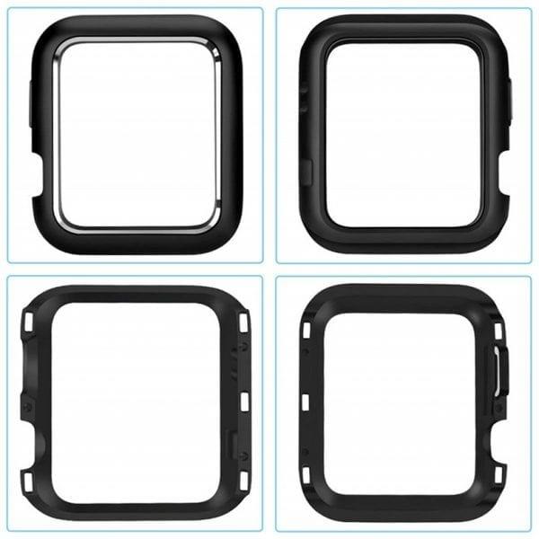 38mm beschermende Magnetisch Case Cover Protector Apple watch 2 - 3 zwart_1006