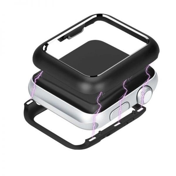 38mm beschermende Magnetisch Case Cover Protector Apple watch 2 - 3 zwart_1008
