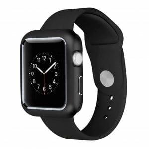 38mm beschermende Magnetisch Case Cover Protector Apple watch 2 - 3 zwart_1009