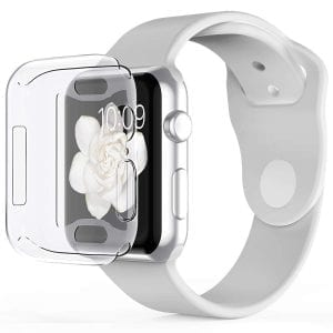 40mm beschermende Case Cover Protector Apple watch 4 transparant