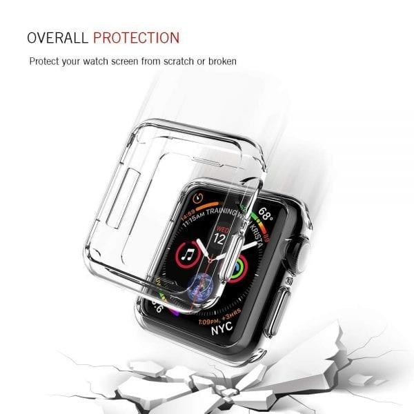 40mm beschermende bumber Protector Apple watch 4 transparant_1003