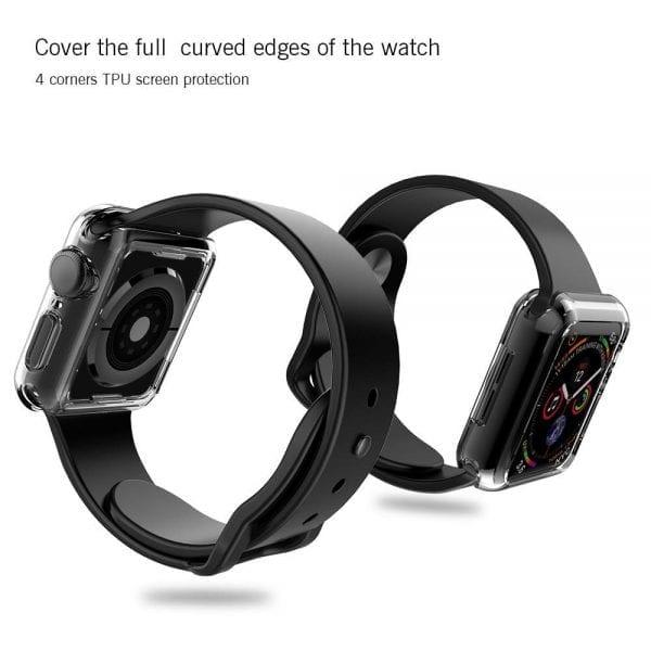 40mm beschermende bumber Protector Apple watch 4 transparant_1007