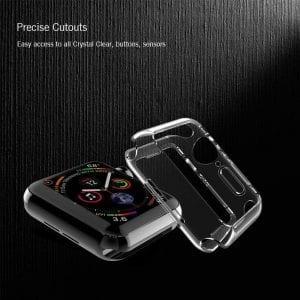 40mm beschermende bumber Protector Apple watch 4 transparant_1010