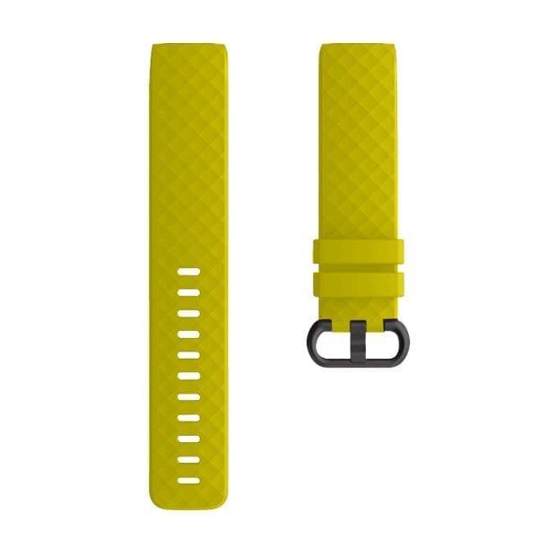 Bandje geschikt voor Fitbit Charge 3 SMALL – geel_001