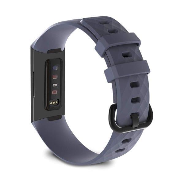 Bandje geschikt voor Fitbit Charge 3 SMALL – grijs_002