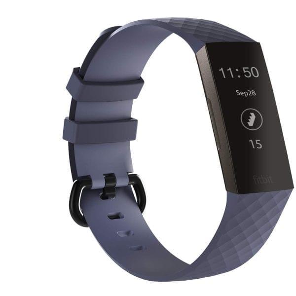 Bandje geschikt voor Fitbit Charge 3 SMALL – grijs_004