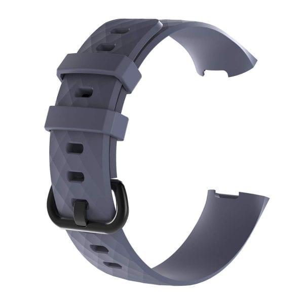Bandje geschikt voor Fitbit Charge 3 SMALL – grijs_005