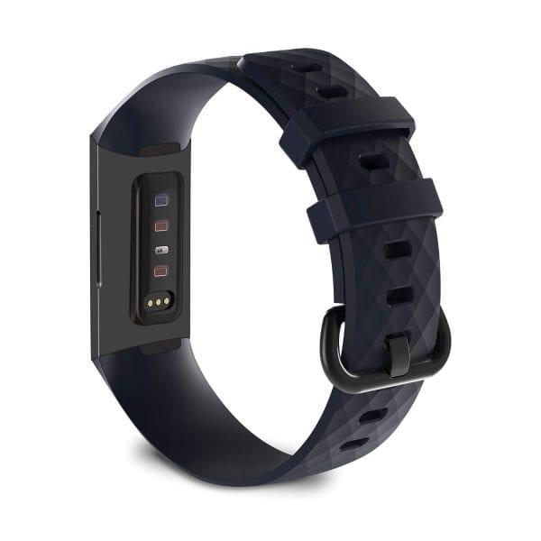Bandje geschikt voor Fitbit Charge 3 SMALL – marine blue_001