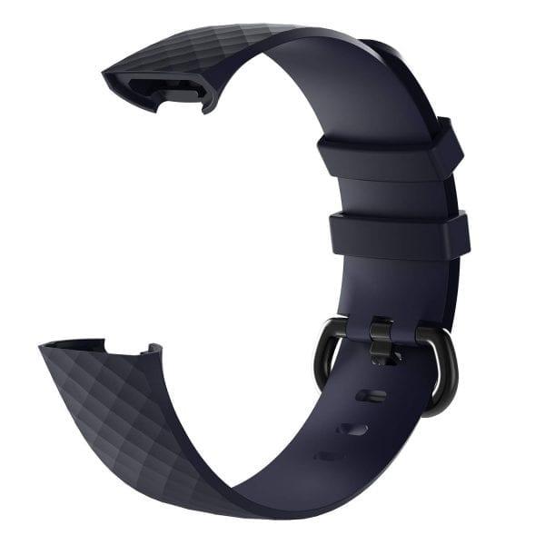 Bandje geschikt voor Fitbit Charge 3 SMALL – marine blue_007