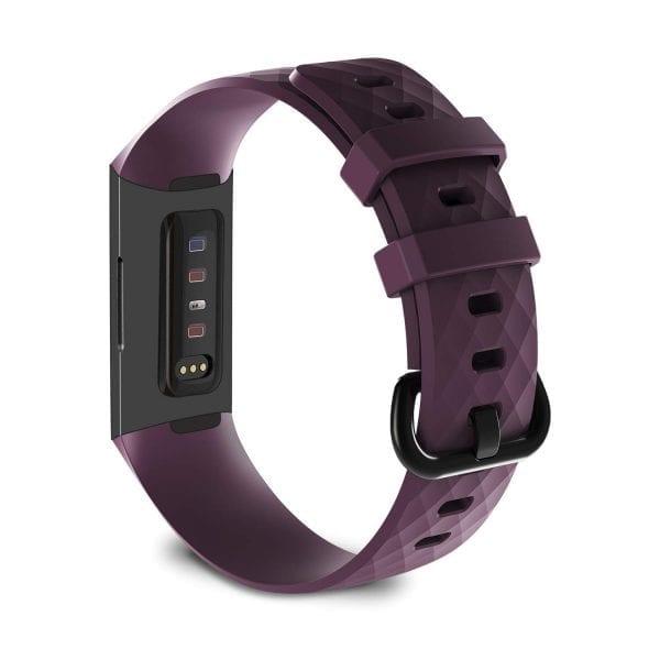 Bandje geschikt voor Fitbit Charge 3 SMALL – paars_005