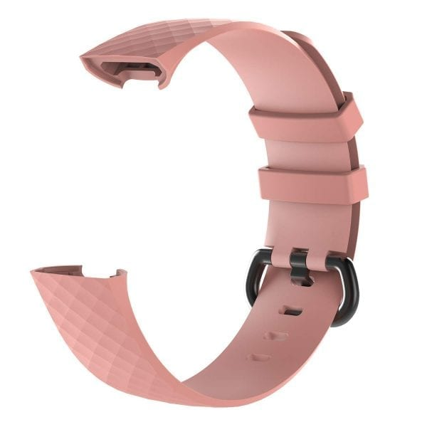 Bandje geschikt voor Fitbit Charge 3 SMALL – roze