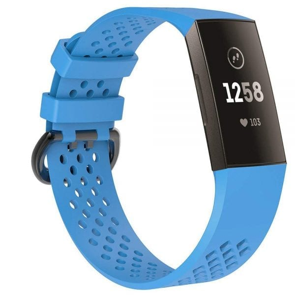 Fitbit Charge 3 bandje sport SMALL – blauw_1003