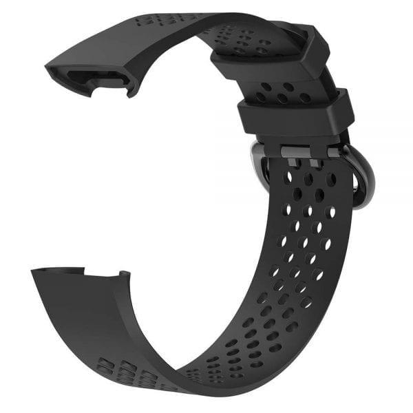 Fitbit Charge 3 bandje sport SMALL – zwart_1001