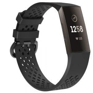 Fitbit Charge 3 bandje sport SMALL – zwart_1003