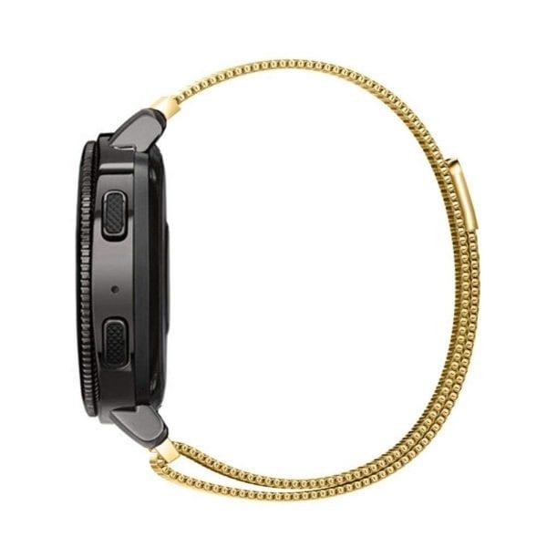 Samsung Gear Sport 20mm bandje Samsung Galaxy 42mm bandje SM-R810 Milanese Loop goud_001