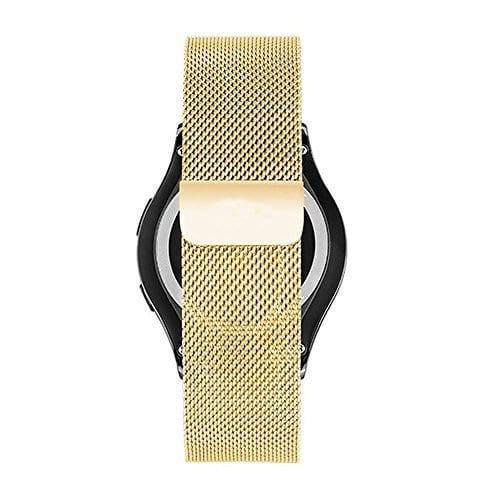 Samsung Gear Sport 20mm bandje Samsung Galaxy 42mm bandje SM-R810 Milanese Loop goud_002